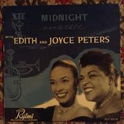 "Edith and Joyce Peters: Midnight Cocktail 10""-LP"