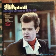 Dick Campbell: Sings Where It's at LP