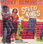 "Marky Ramone And The Speed Kings: Speedkings Ride Tonight / Hotrods-R-US 7"" UUSI / NEW ltd Red/Blue"