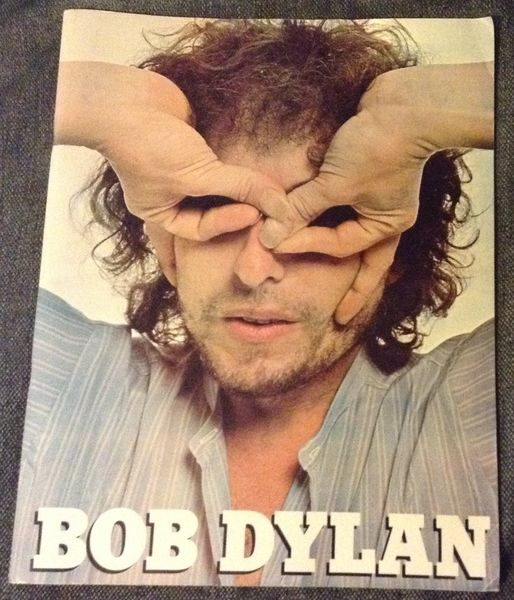 Dylan, Bob: Kiertuevihko Tour Program 1978