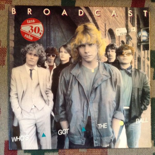 Broadcast: Who's Got The Ball LP
