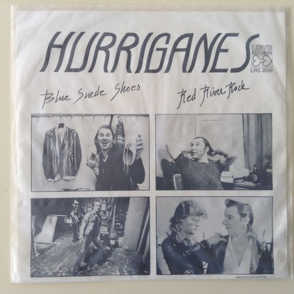 Hurriganes: Blue Suede Shoes / Red River Rock 7""