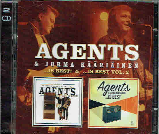 Agents & Jorma Kääriäinen: ...is Best & is Best vol 2 2-CD