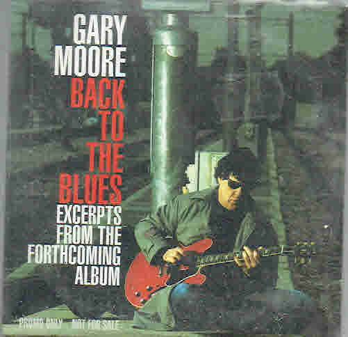 Gary Moore: Back To The Blues PROMO CD-single