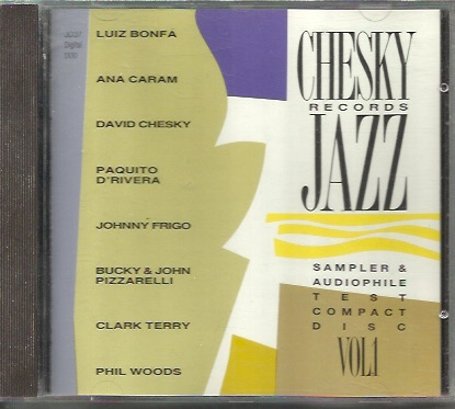 V/A: Chesky Records Jazz Sampler & Audiophile Test Compact Disc vol.1 CD
