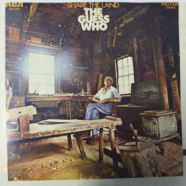 Guess Who: Share the Land Original promoposter