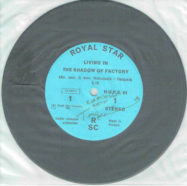 Royal Star: Living In The Shadow of Factory / Talo numero 33 (TIMO KOIVUSALO, nimmari)