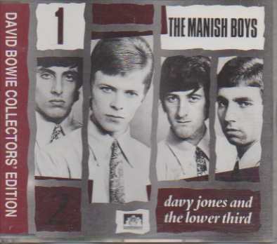 Bowie, David: Collectors' Edition 1 -The Manish Boys / Davy Jones and the Lower Third