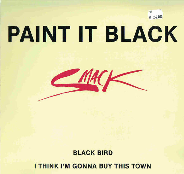 SMACK: Paint it Black 12""