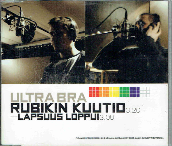 Ultra Bra: Rubikin kuutio / Lapsuus loppui CD-single