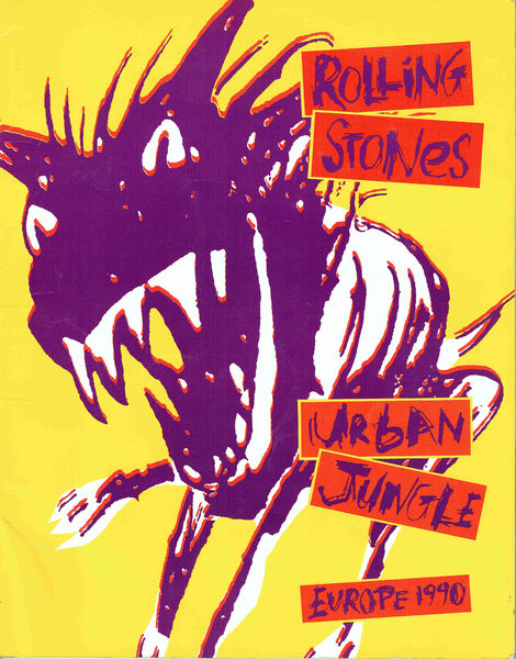 Rolling Stones: Urban Jungle Kiertuevihko Tour Program