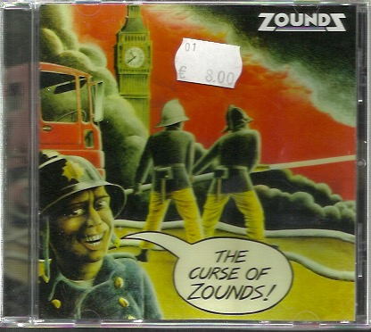 Zounds: The Curse Of Zounds + Singles CD