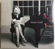 Diana Krall: All For You - A Dedication To The Nat King Cole Trio CD
